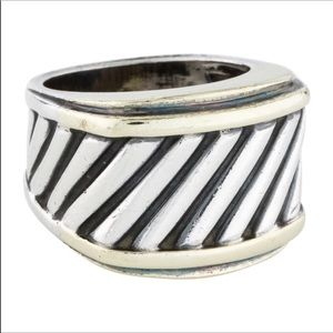 David Yurman cigar band ring